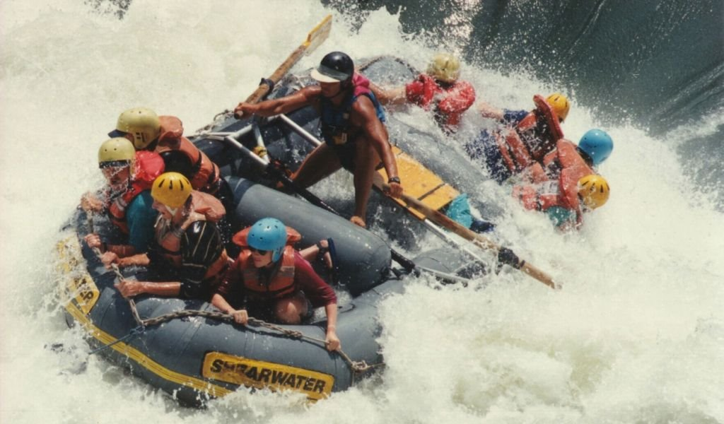 Sambesi - White Water Rafting - Shearwater