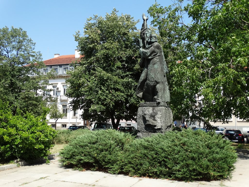 Monument of St. Paisius of Hilendar (1722–1773)