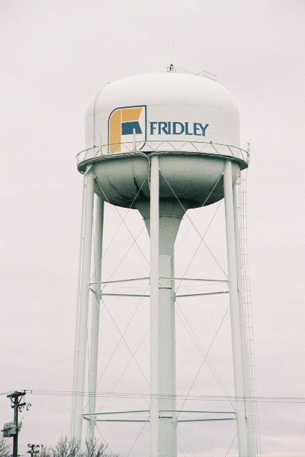 Fridley Water Tower 1