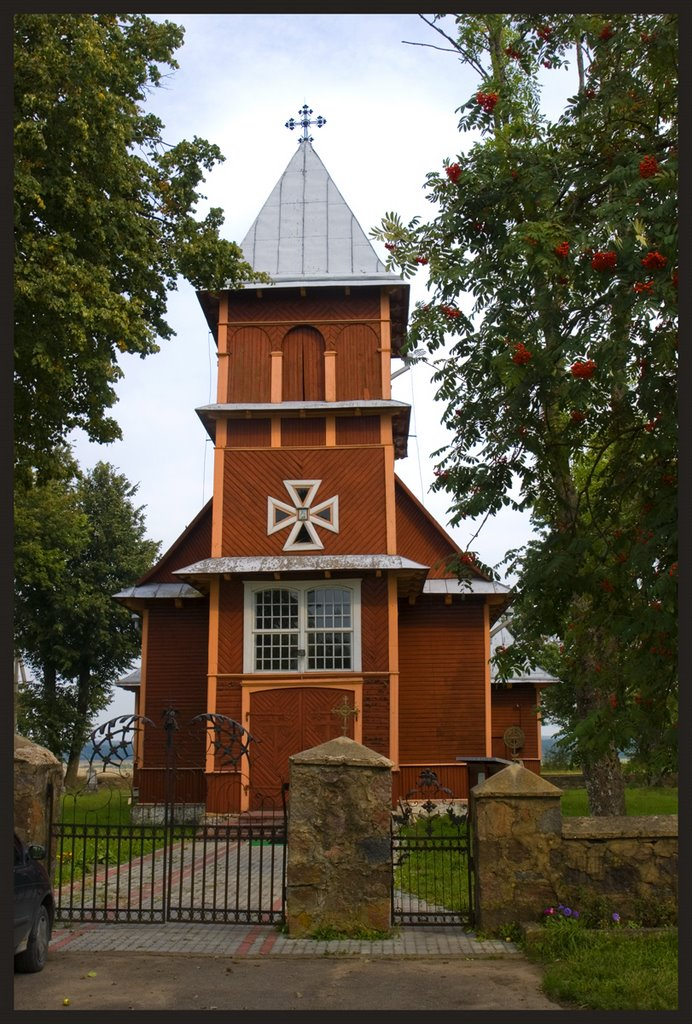 Wooden Church in Akmenynė