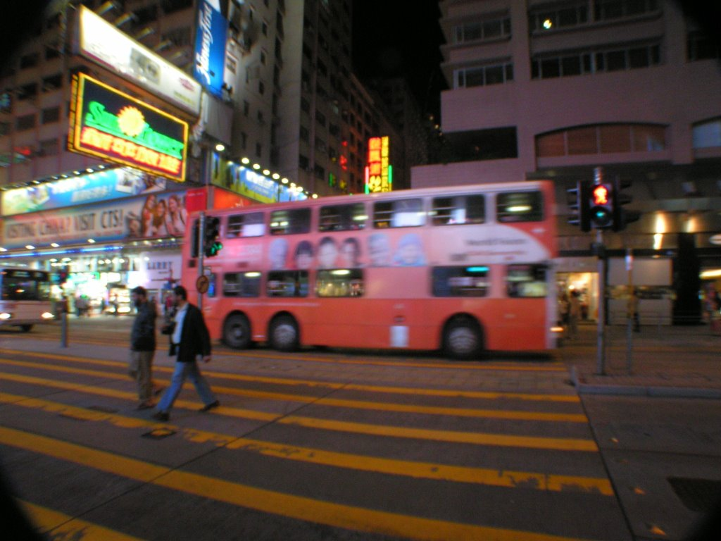 Nathan Road at Night