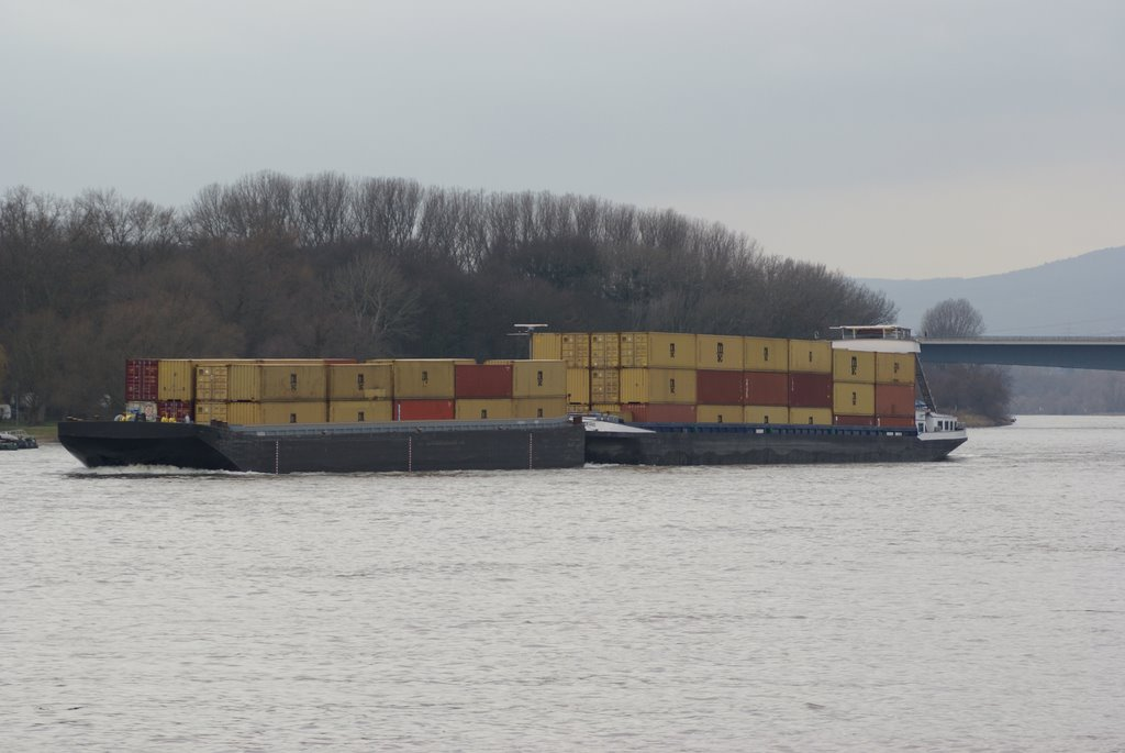 River Rhine, Container Shipping