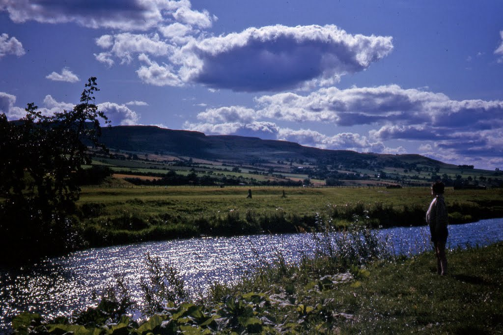 River Coquet at Rothbury Northumberland
