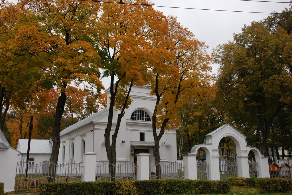 Kaunas, Panemune St Virgin Mary church