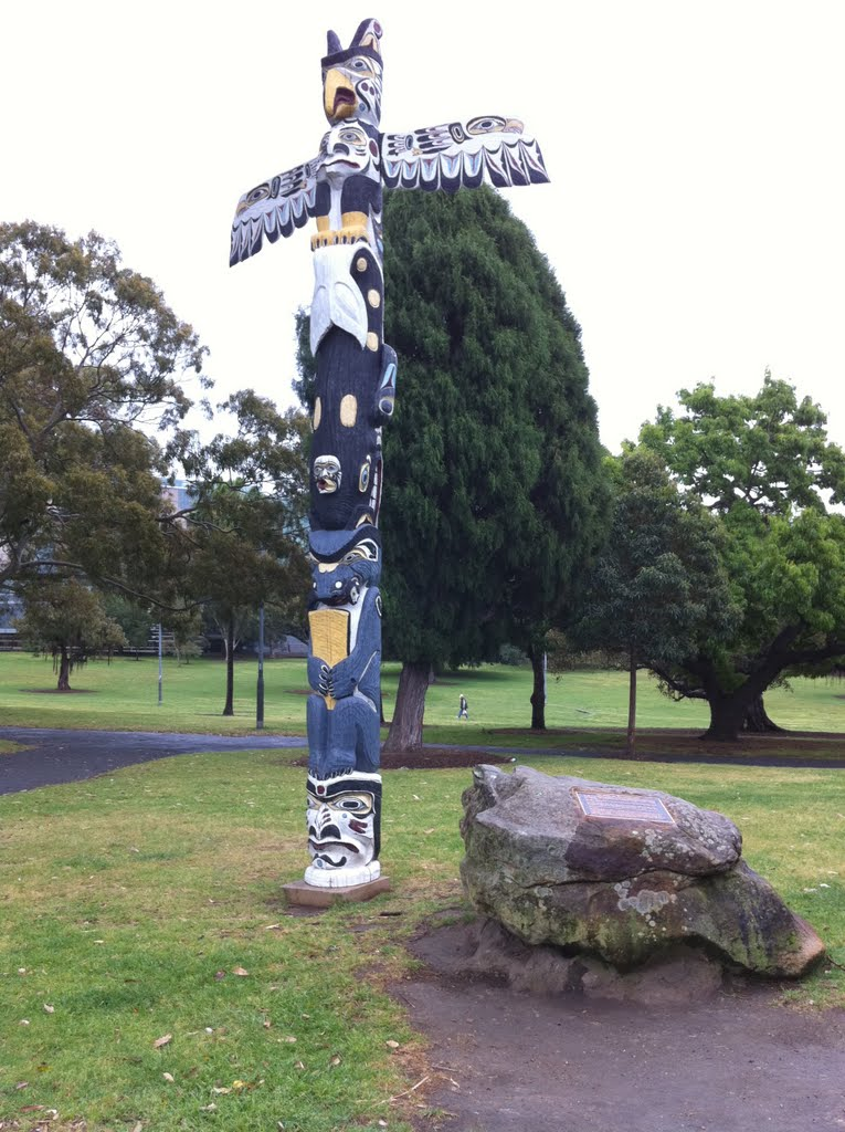 Totem Pole at Victoria Park