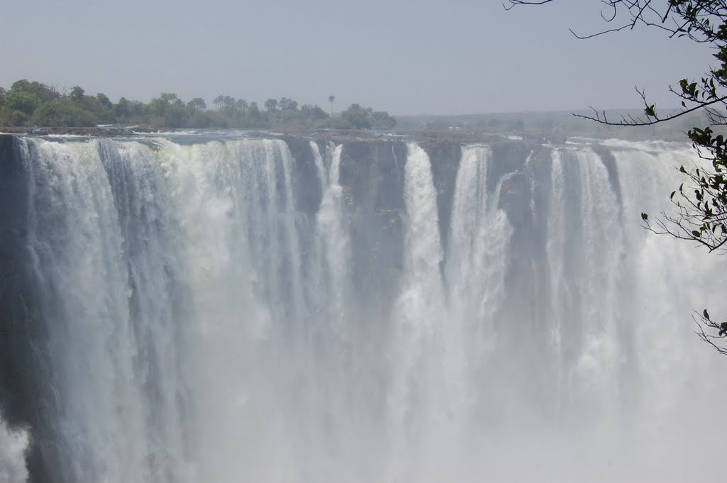 the power of the Victoria Falls