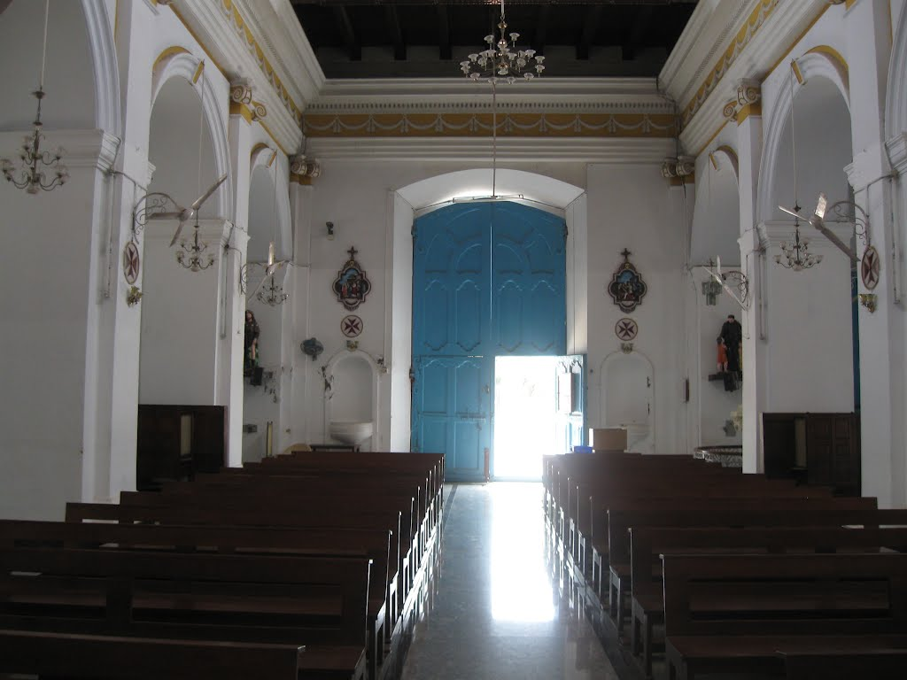 Pondicherry, notre dame church