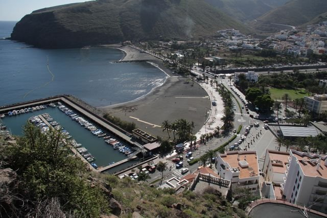 The Beach De La Gomera Canerias