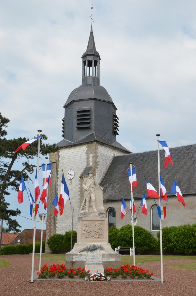 Eglise St Vaast - Quend (Somme)